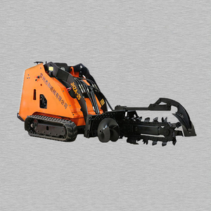 Mini Skid Steer Loader Trencher